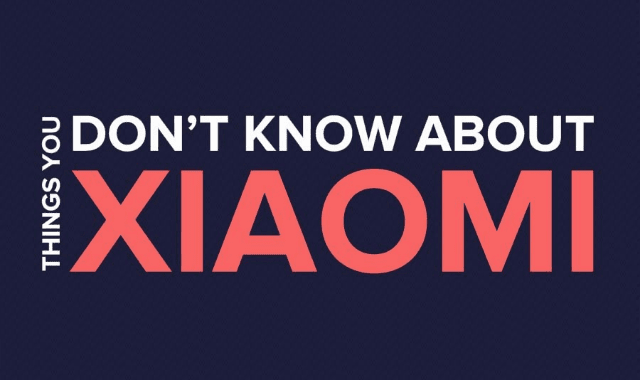Thing You Don't Know About Xiaomi