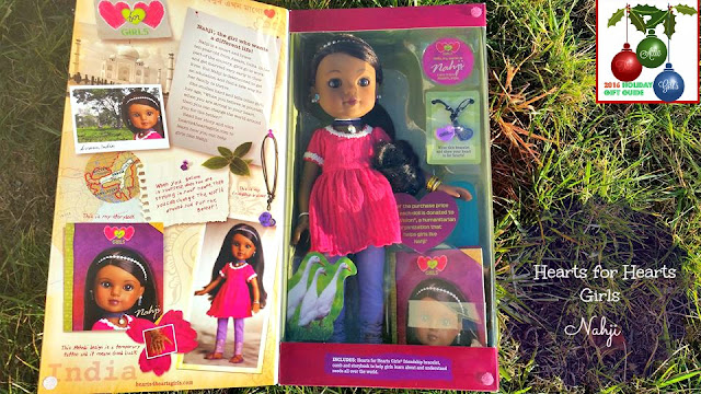 Nahji, cultural dolls, holiday gifts, gift guide