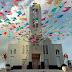 SÃO JOÃO 2017: Decoração junina enfeita o Centro de Casinhas e deixa a cidade em clima de festa