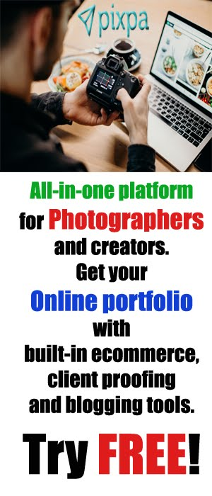 Pixpa All-in-one Platform for Photographers
