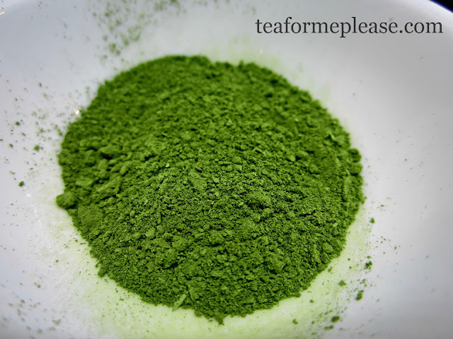 Finished Matcha Powder