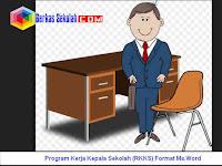 Program Kerja Kepala Sekolah (RKKS) SD SMP SMA SMK Format Ms.Word