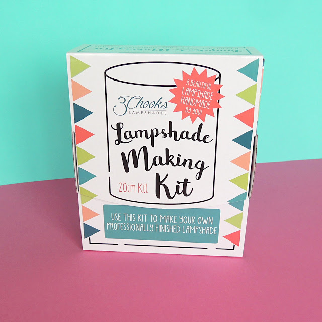 3Chooks Lampshade Making Kit Boxed