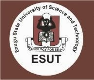 ESUT 2018/2019 Post-UTME Screening Time-Table | Date, Time & Venue