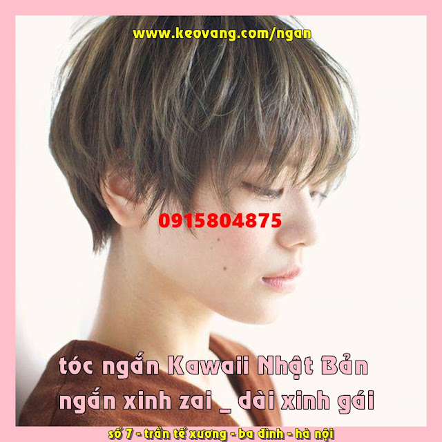 99 kiểu tóc ngắn đẹp nhất 2019 đề xuất bởi Tiệm Tóc Tomboy Korigami