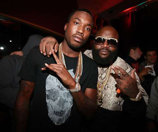 Maybach Music Group boss, Rick Ross is taking sides with Meek Mill in his feud with Nicki Minaj