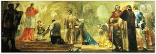 'A Glória de São Luiz Gonzaga', Aldo Locatelli, Catedral de Novo Hamburgo (Mural)