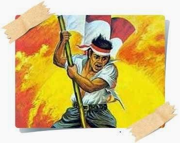 gambar pantun perjuangan pejuang kemerdekaan