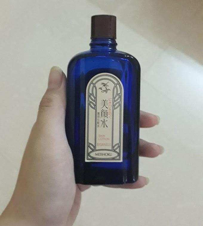 Review lotion trị mụn Meishoku