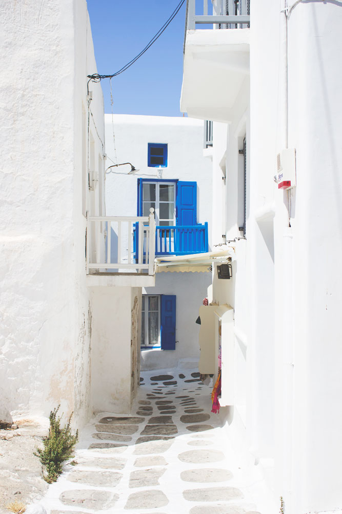 Beautiful Travel Architecture Building Photography | Mykonos, Greece House