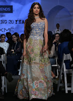 Janhvi Kapoor at Lakme Fashion Week 2020 HeyAndhra.com