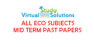 All ECO Subjects Mid Term Past Papers Collection