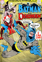 Brave and the Bold v1 #86 dc comic book cover art by Neal Adams
