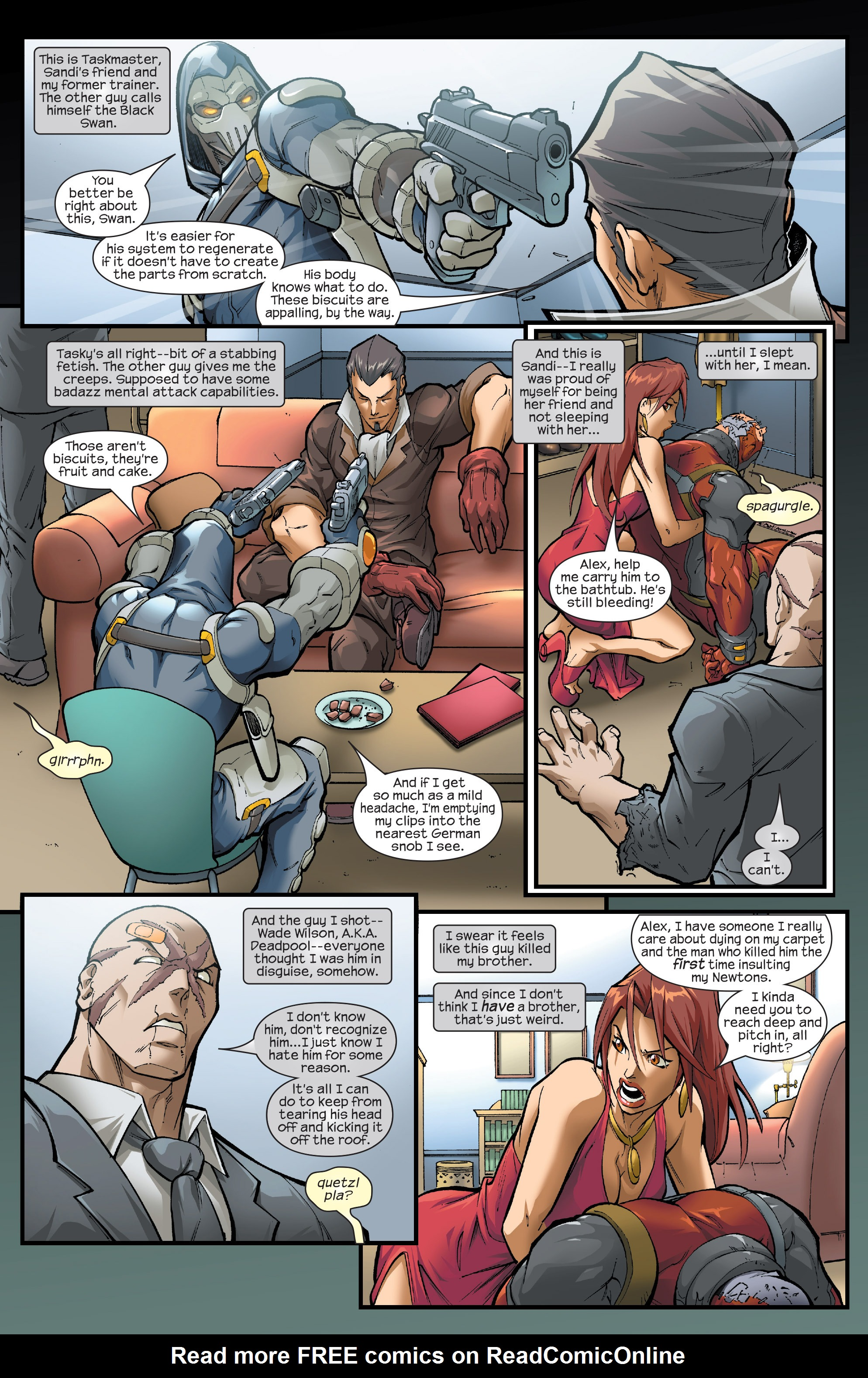 Read online Agent X comic -  Issue #14 - 7