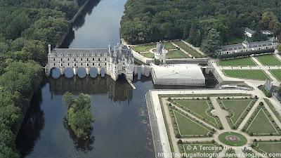 Castelos do Vale do Loire - Château de Chenonceau