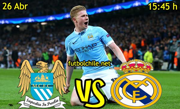 VER STREAM RESULTADO EN VIVO, ONLINE: Manchester City vs Real Madrid