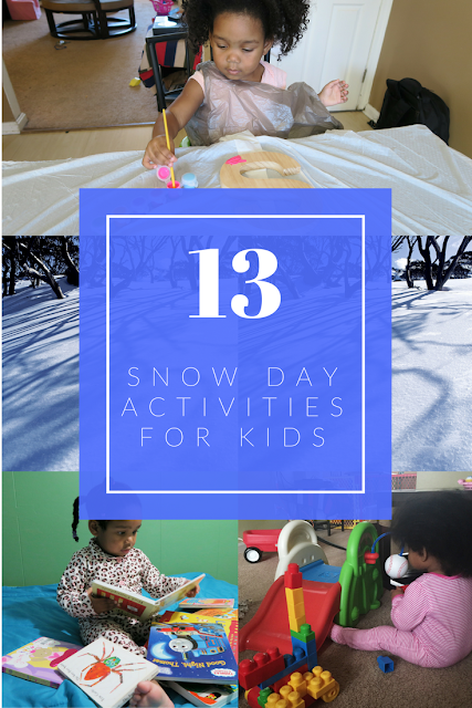 Snow day activities for kids.