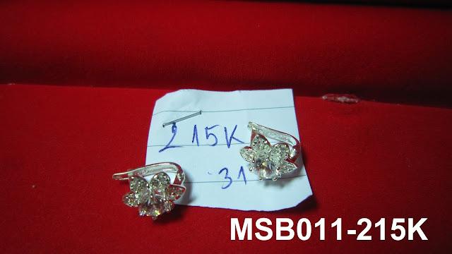 Bông tai hình bông hoa sáu cánh MS-B011- Giá: 215,000 VNĐ - Liên hệ mua hàng: 0906 846366(Mr.Giang)