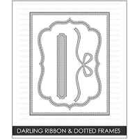 Studio Katia DARLING RIBBON AND DOTTED FRAMES Dies