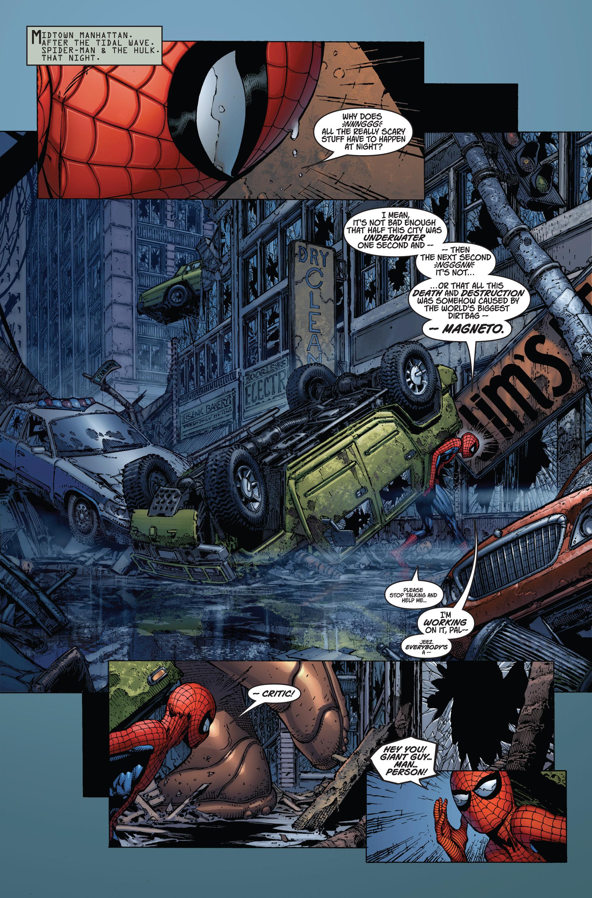 Read online Ultimatum comic -  Issue #2 - 3