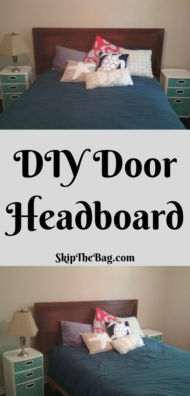 Good DIY Door Headboard