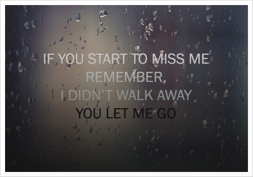 Quotes About Letting Go And Moving On
