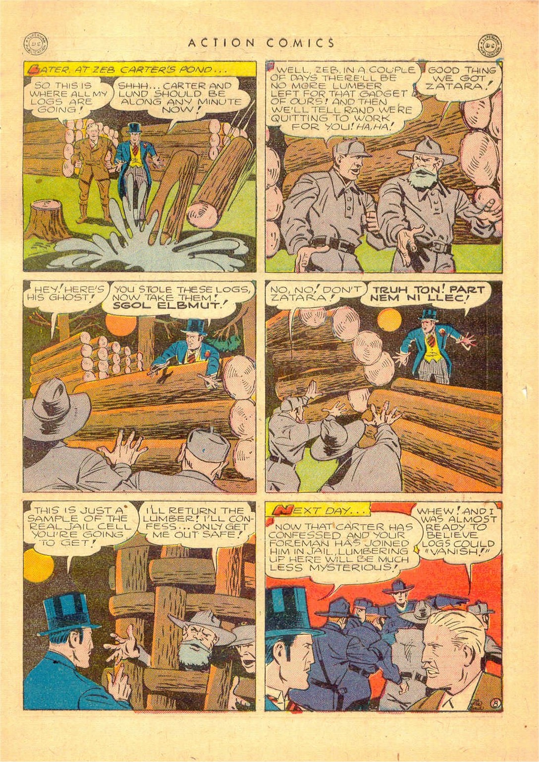 Read online Action Comics (1938) comic -  Issue #80 - 48
