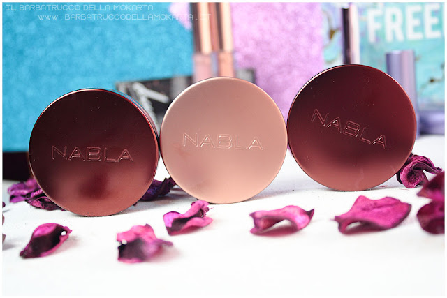 packaging recensione nabla cosmetics  recensione shades & glow freedomination collection summer