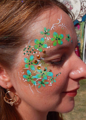Face painting for kids at Women in Sisterhood May Event