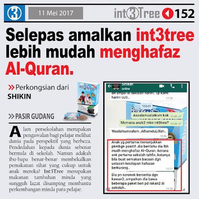 Int3tree mudah hafaz al quran