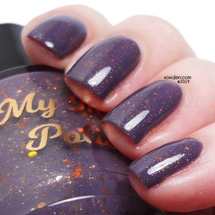 xoxoJen's swatch of My Indie Polish The Thruple