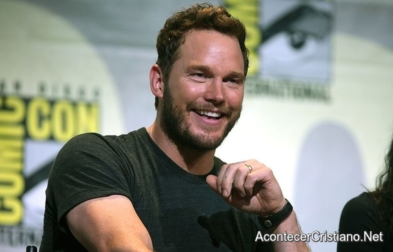 Chris Pratt comparte fe