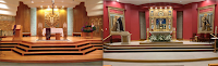 Before and After: St. Francis of Assisi in Grapevine, Texas