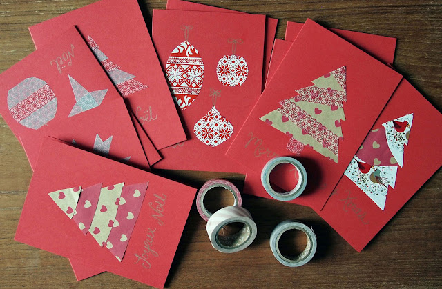Homemade Christmas card Ideas