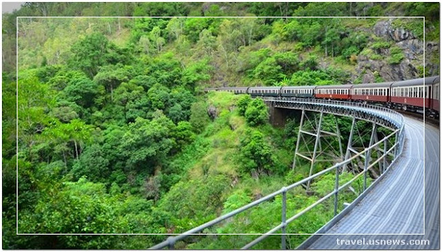Kuranda Scenic Railway - Top 7 Best Places to Travel in Great Barrier Reef at Least Once in Your Life Time