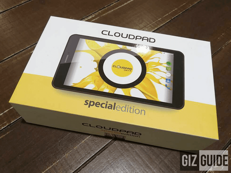 Raffle: Cloudpad Special Edition Tablet