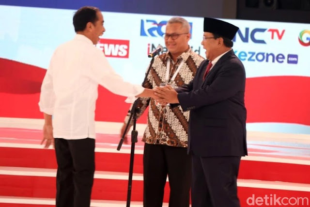Debat Panas Jokowi Vs Prabowo, Siapa Pemenangnya bagi Netizen?