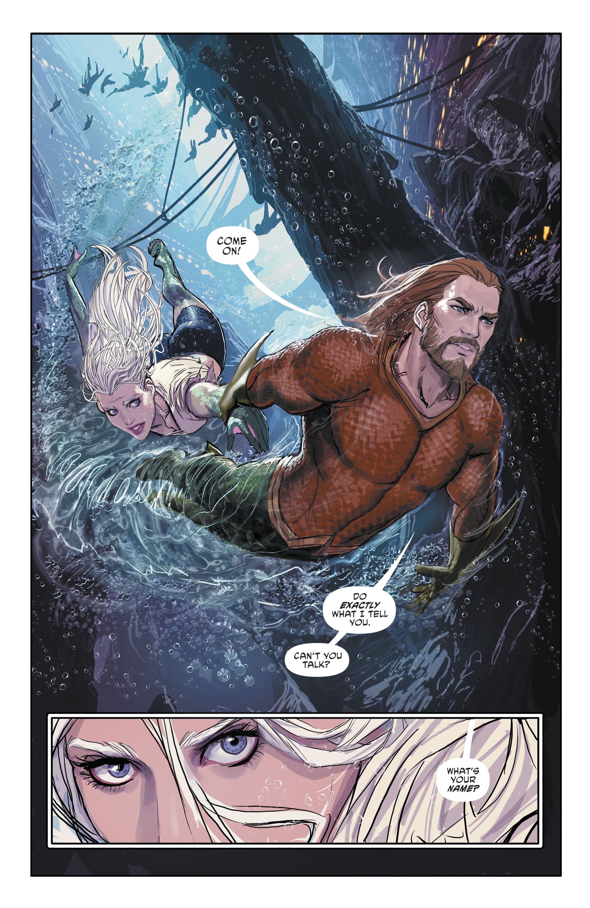 Read online Aquaman (2016) comic -  Issue #25 - 28