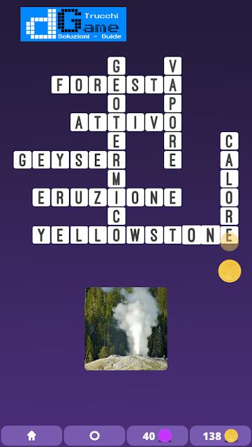 Soluzioni One Clue Crossword livello 11 schemi 5(Cruciverba illustrato)  | Parole e foto