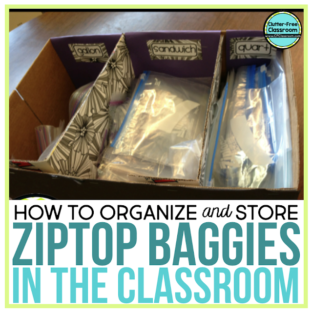 Ziploc bags are simple and cheap classroom organization tools that every organized teacher needs! These ziploc baggies help with organizing so many different games and activities in elementary classrooms. Read this blog post to learn how these cheap storage solutions can make a difference in your classroom.