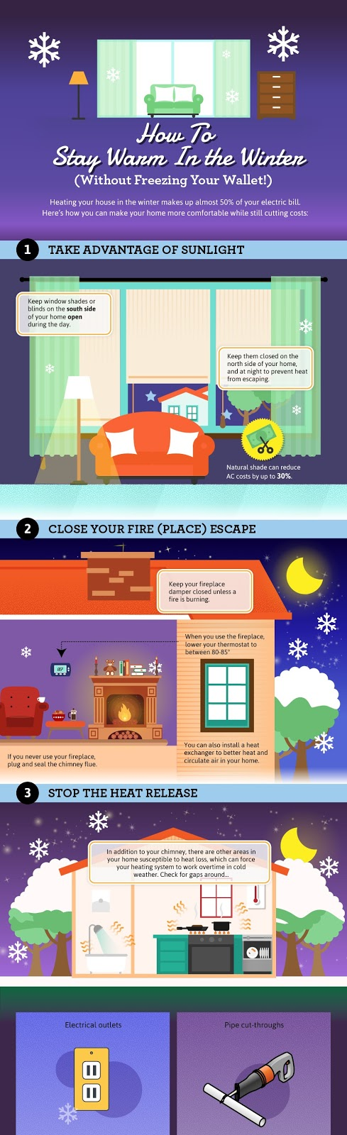 Stay Warm This Winter on a Budget