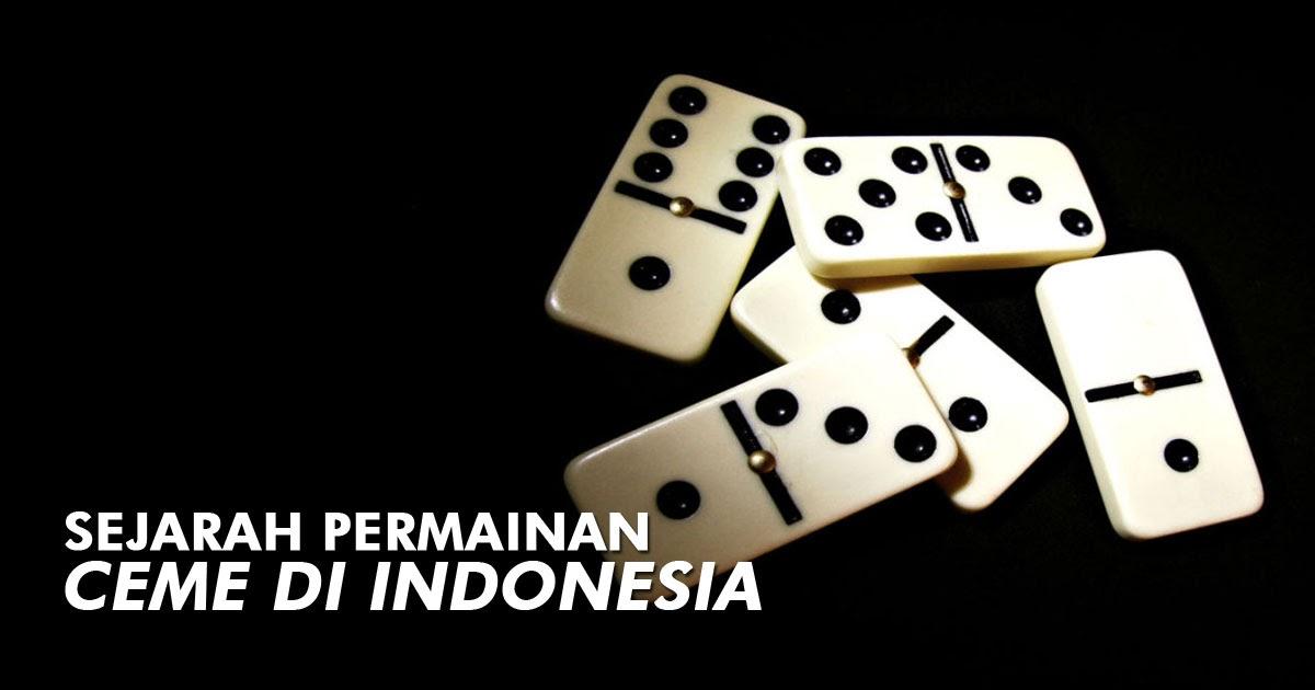 Asal Usul Kartu Domino atau Gaple - Leo Rimba