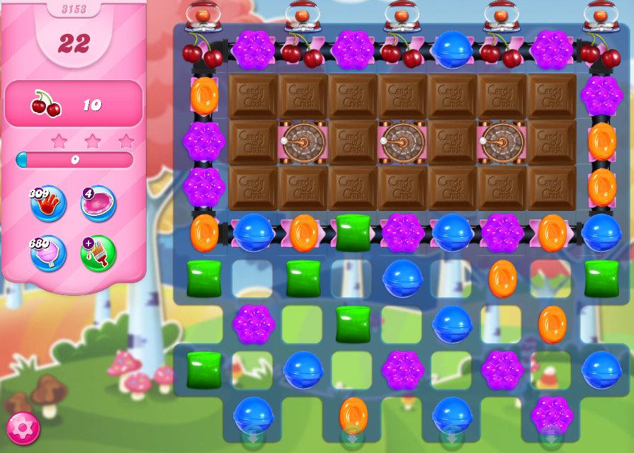 Candy Crush Saga level 3153