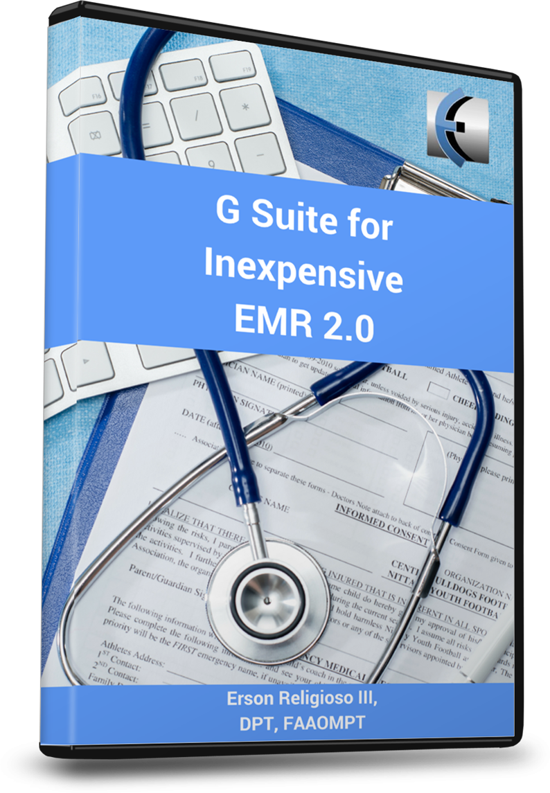 G Suite for Inexpensive EMR 2.0