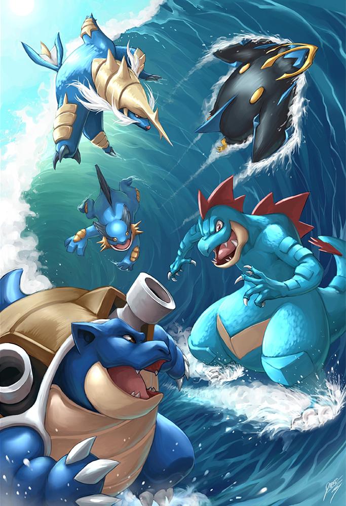 Tipo Water (Água) - Pokémon Blast News