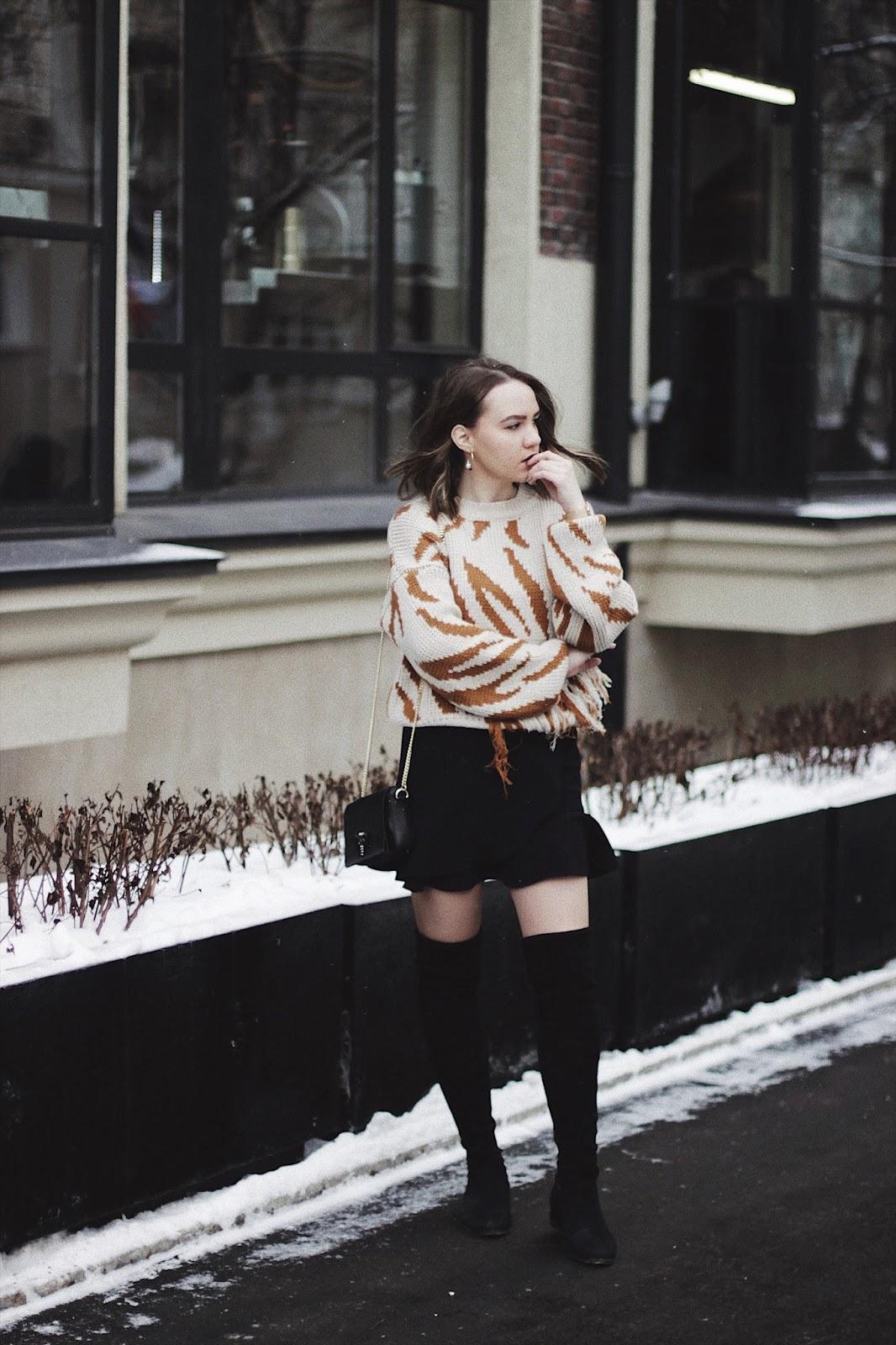 Romwe Chunky Sweater | Fashion Blogger