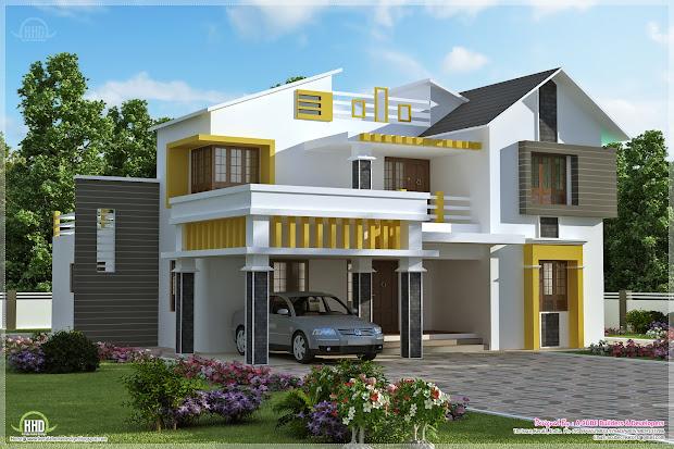Contemporary Villa Designs Kerala