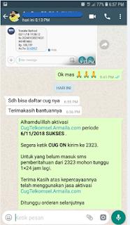 Testimoni CUG Telkomsel Kartu Pasangan Kartu Komunitas Kartu Soulmate Kartu Couple 6 November 2018