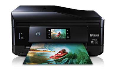 Epson Expression Premium XP-820 Small-in-One Printer Drivers and Review