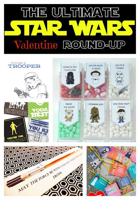 While I'm Waiting...The Ultimate Star Wars Valentine round-up